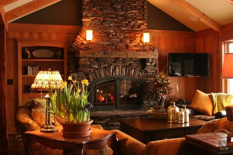 We explain the difference between a fireplace and a fireplace insert and why we do not manufacture fireplaces inserts.