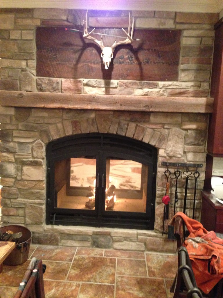 See Through Fireplaces 2 Sided Wood Fireplace Acucraft