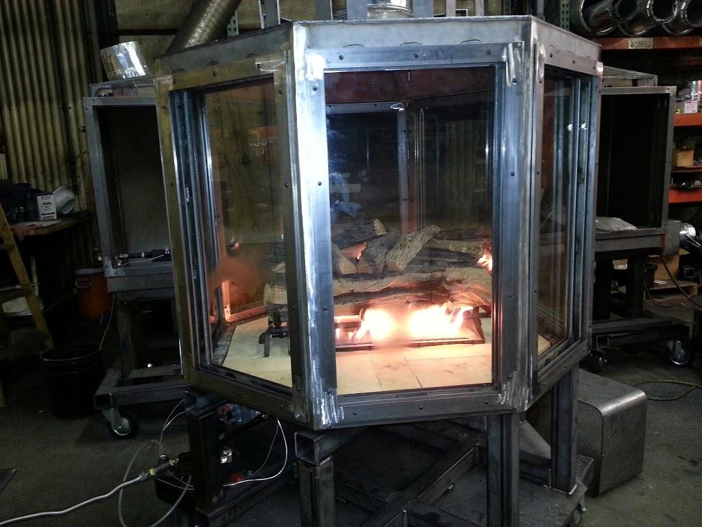 gas multi sided custom fireplace 4 sided  8 sided Gas Fireplace Inserts in Custom Home Gas Fireplace Inserts in Custom Home