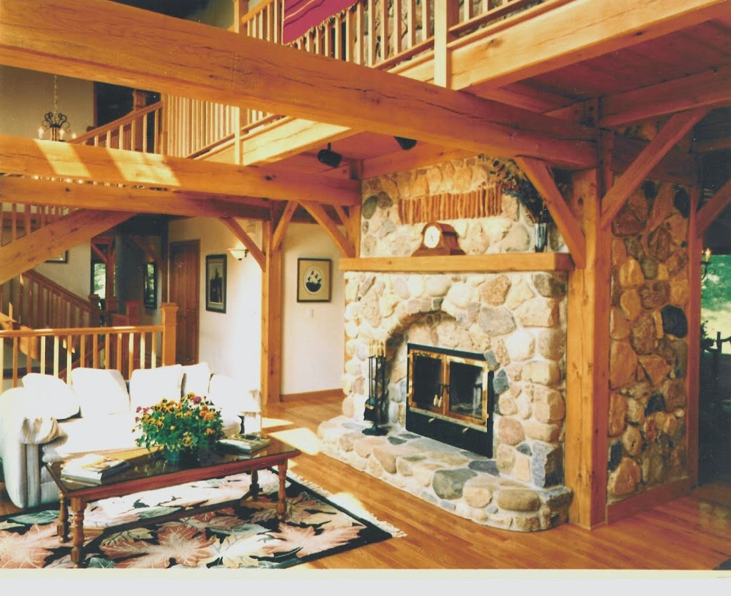 Acucraft celebrates 36 years of custom fireplaces for Through fireplace