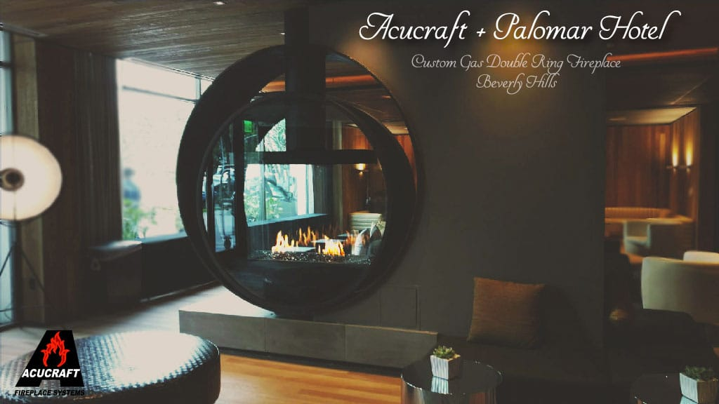 Acucraft-Custom-Gas-Double-Ring-Circular-Fireplace-Palomar-Hotel-Beverly-Hills