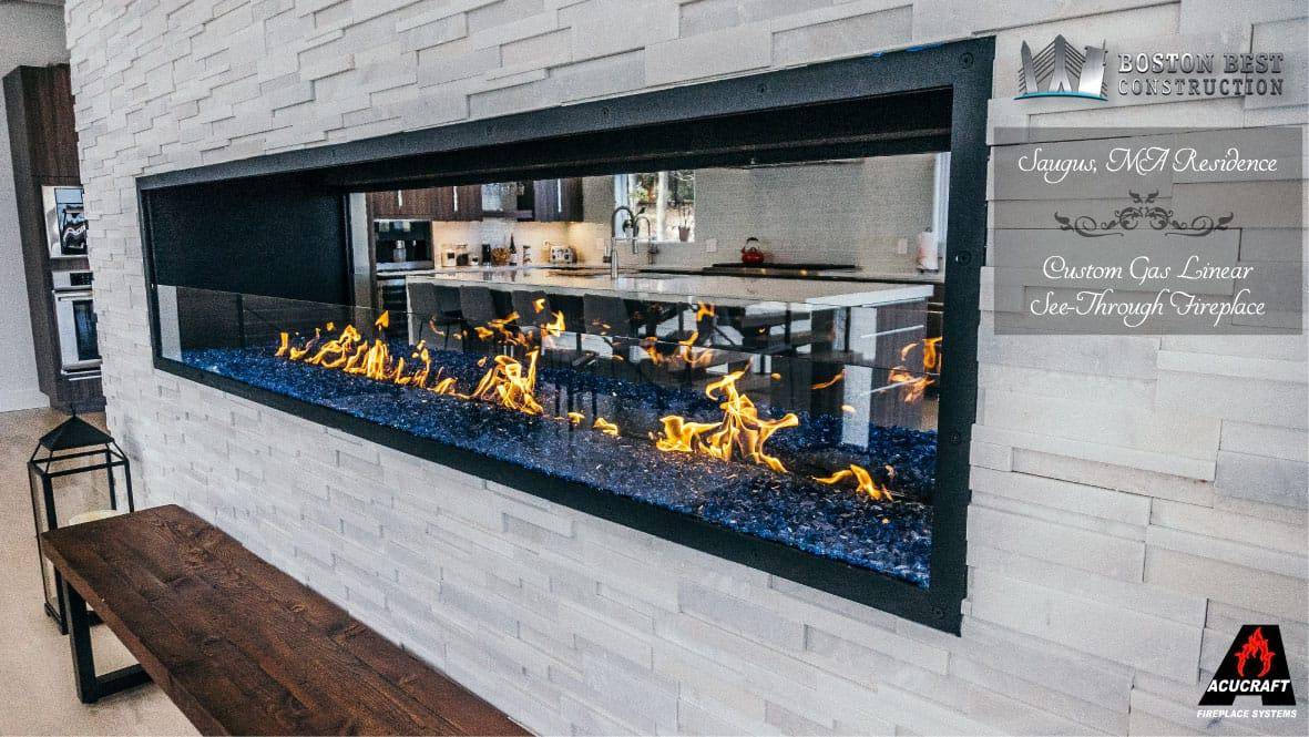 Custom Gas Linear Fireplace A Customer S Journey