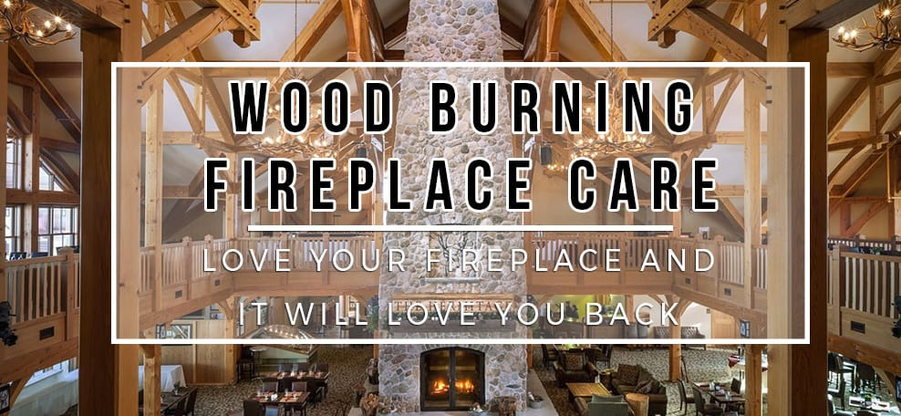 Wood Burning Fireplace Blog Header