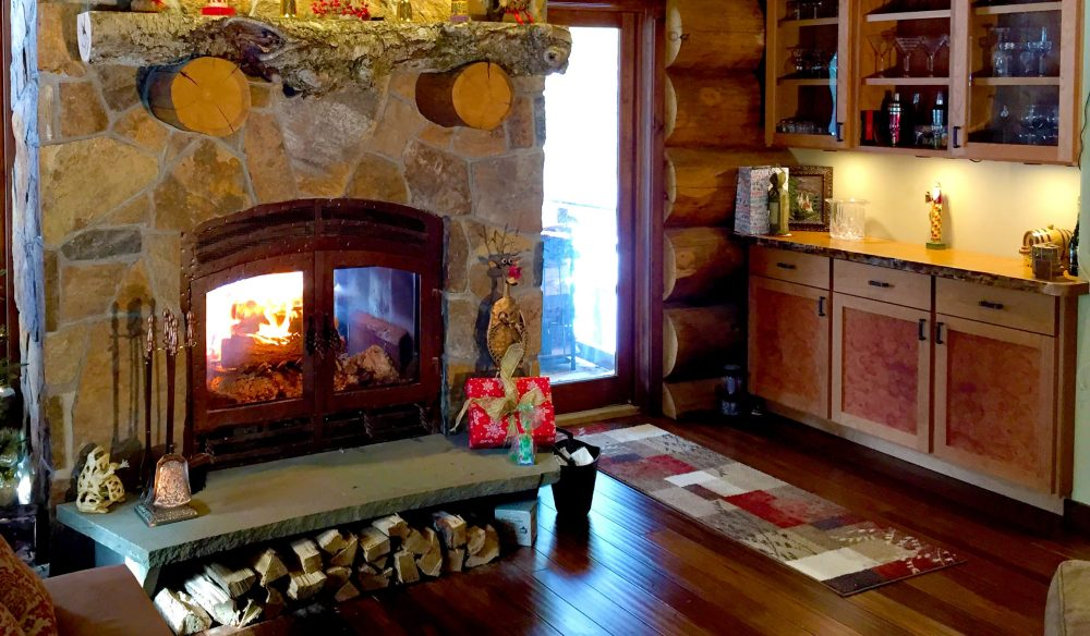 Log Cabin Fireplace A Customer S Journey Acucraft Fireplaces