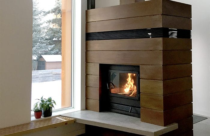 Zmax High Tech Wood Fireplace