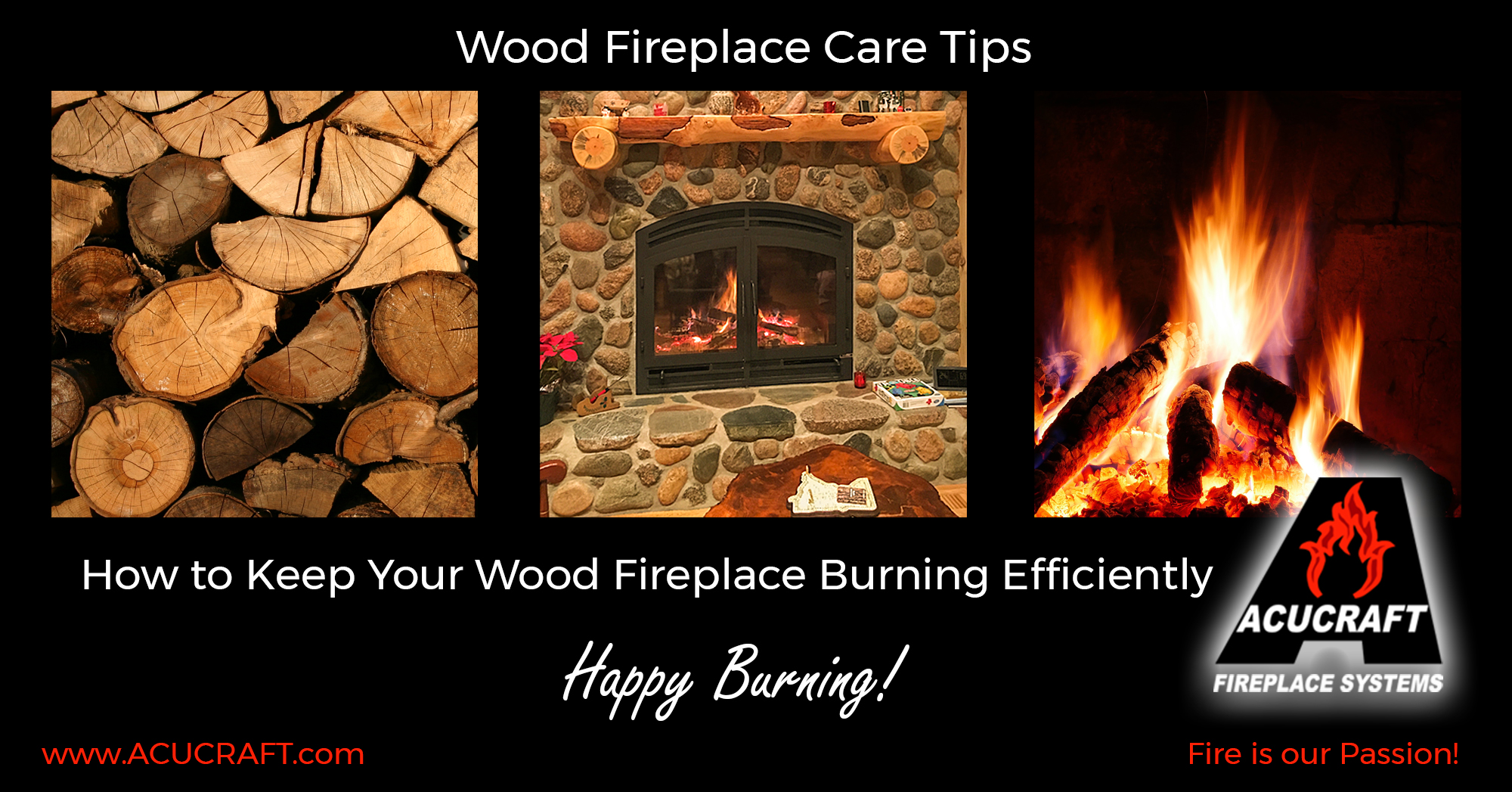 Wood Fireplace Care Tips
