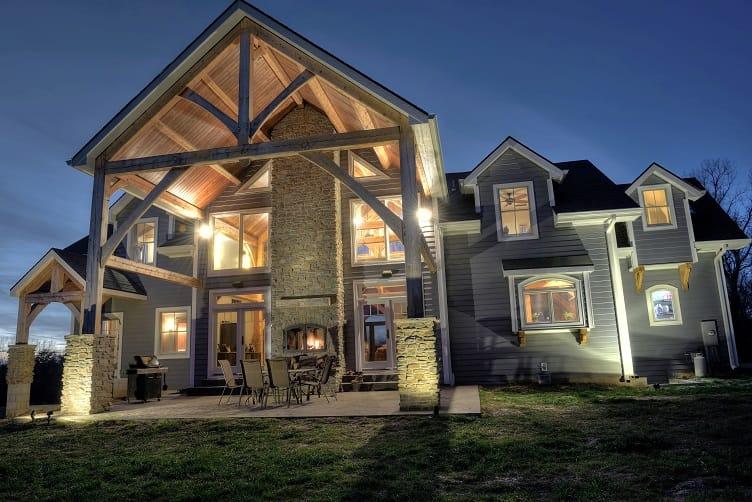 Indoor/Outdoor Fireplace Home Value