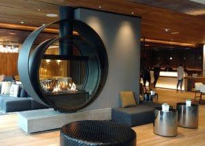 Acucraft-Custom-Gas-Double-Ring-Circular-Fireplace-Palomar-Hotel-Beverly-Hills-3