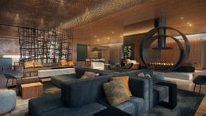 Acucraft-Custom-Gas-Double-Ring-Circular-Fireplace-Palomar-Hotel-Beverly-Hills-Inspiration-2