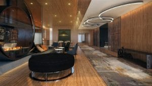 Acucraft-Custom-Gas-Double-Ring-Circular-Fireplace-Palomar-Hotel-Beverly-Hills-Inspiration