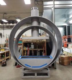 Acucraft-Custom-Gas-Double-Ring-Circular-Fireplace-Palomar-Hotel-Production-2