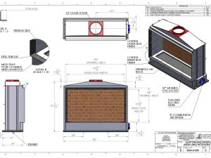 acucraft provided fireplace drawing
