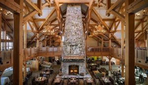 largest wood burning fireplace hermitage club ski resort