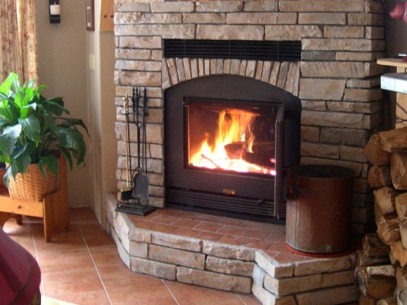 z-max wood burning fireplace