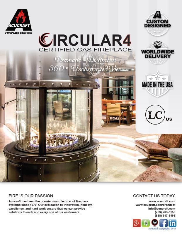 Circular Fireplace Brochure