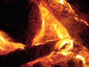 Wood Burning Fire Stages - Clean Burning