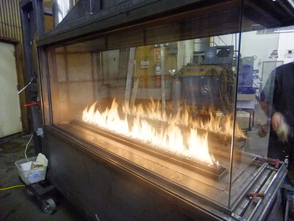 Acucraft Gas Fireplace with 72 inch burner