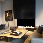 Acucraft Custom Gas Panoramic Fireplace