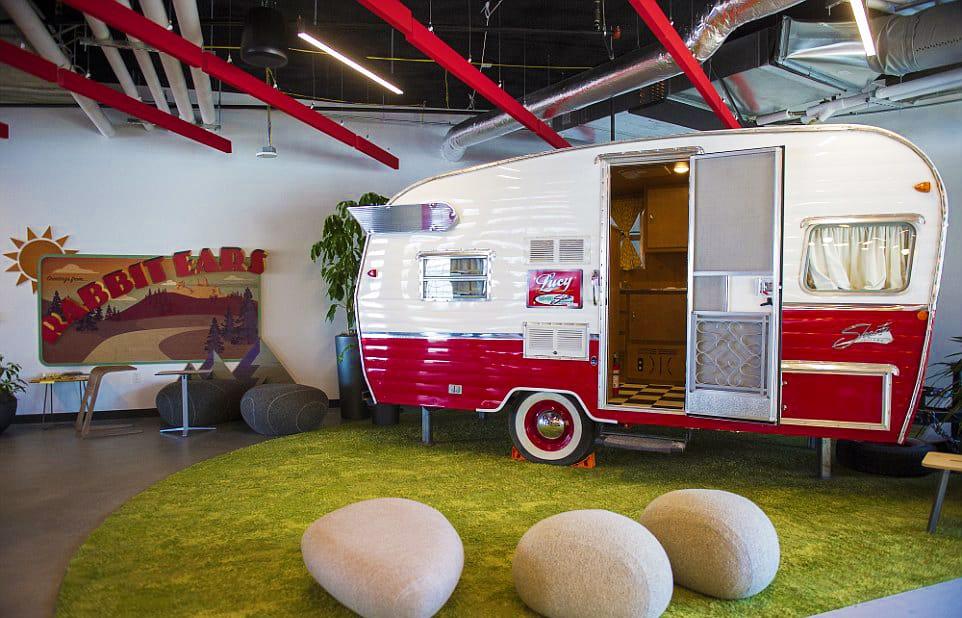 Google Headquarters Camper Meeting Room