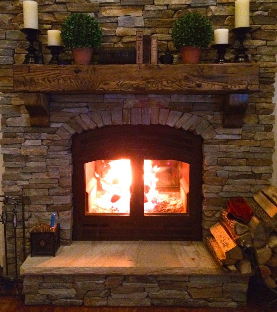 Zero Clearance Wood Burning Fireplace 2 Sided by Acucraft