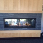 Acucraft Commercial Custom Gas Fireplace - Minnetonka Medical Center
