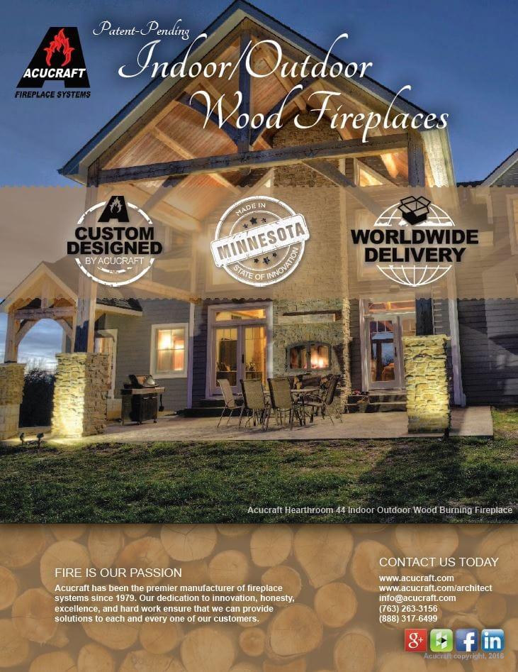 indoor outdoor wood fireplace brochure