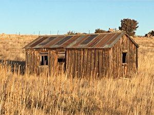 1800s mining cabin