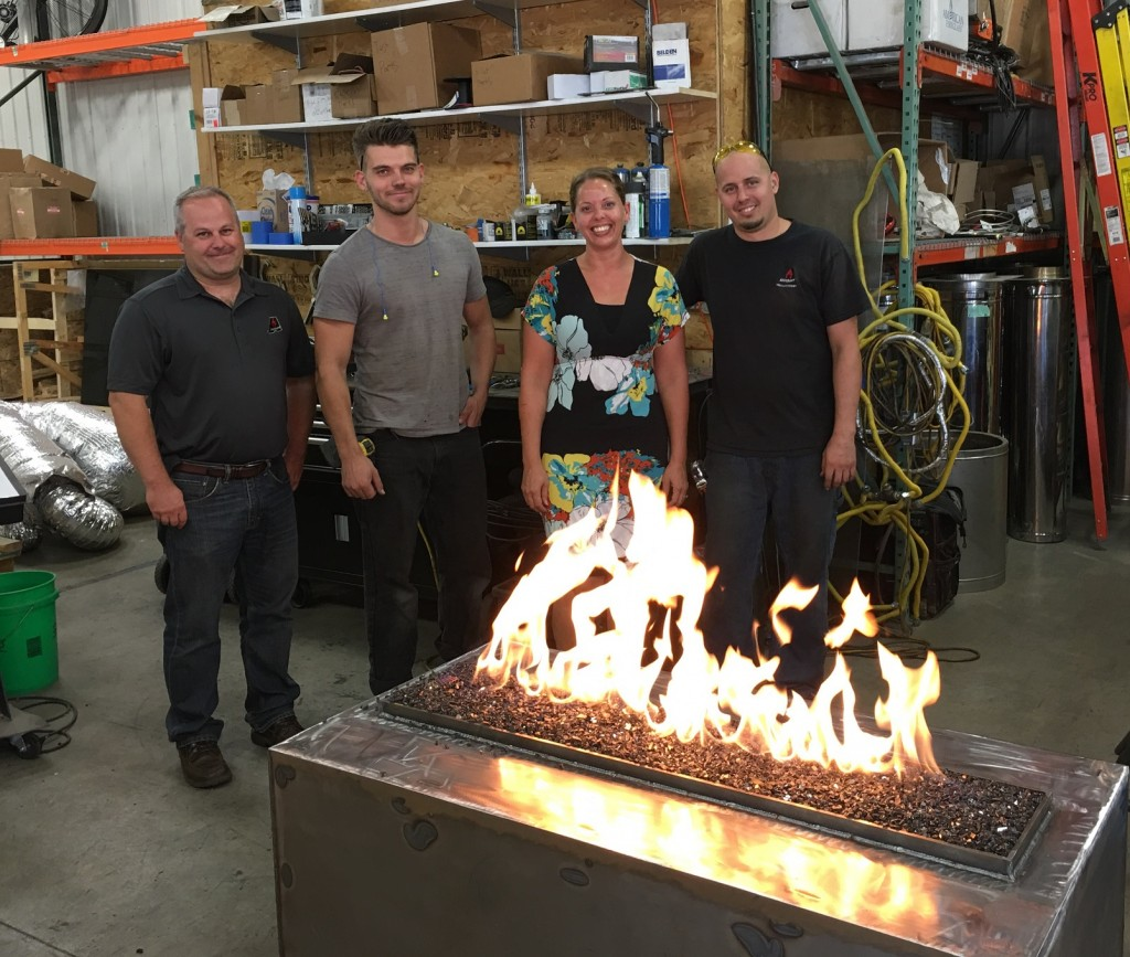 Acucraft Custom Gas Outdoor Fire Pit