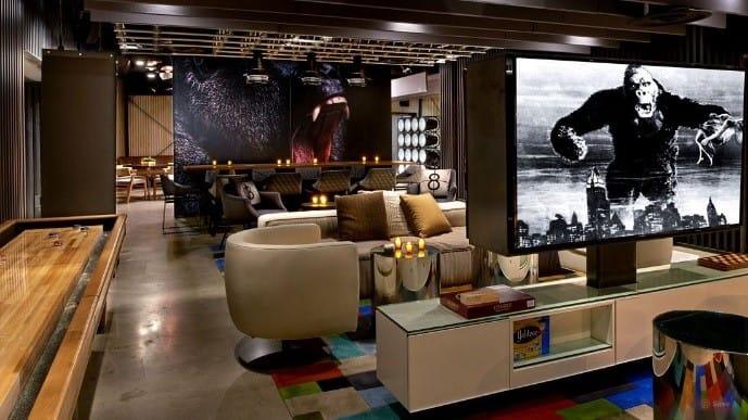 Kimpton Palomar Hotel Lounge