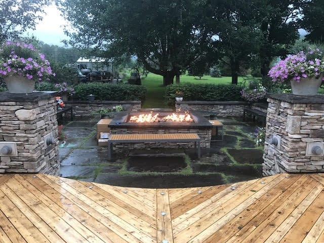 Outdoor Fire Pit by Acucraft