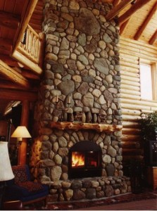 Acucraft Chalet Series See-Through Fireplace