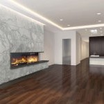 Acucraft Residential Custom Gas Linear Fireplace