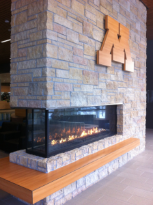 U-of-M-Fireplace