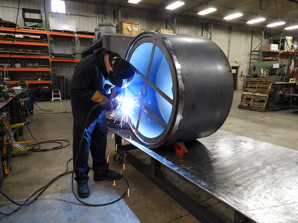 Welding Residential Indoor Gas Firepit