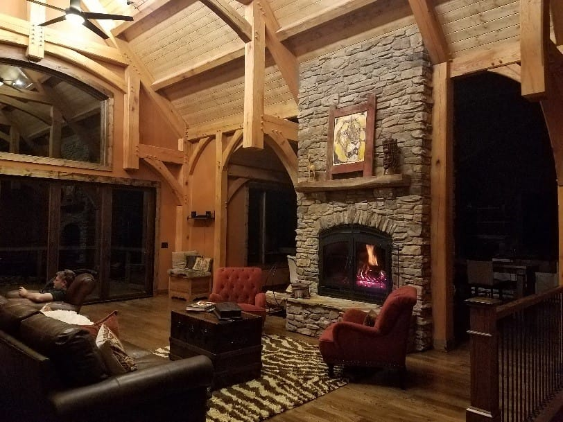 The Advantages of Double Sided Wood Fireplaces | Acucraft ...