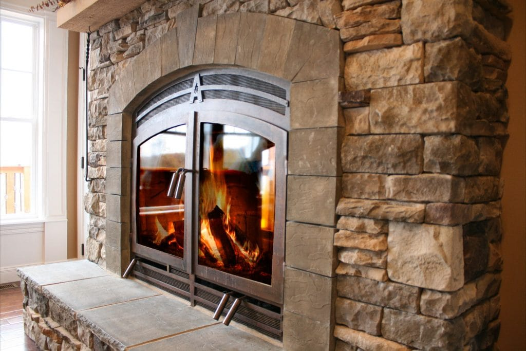 Wood Burning Fireplace Acucraft