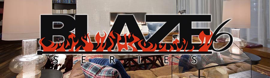 The Blaze6 Linear Gas Fireplace