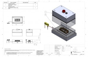 acucraft provided four sided open gas fireplace drawing and specifications