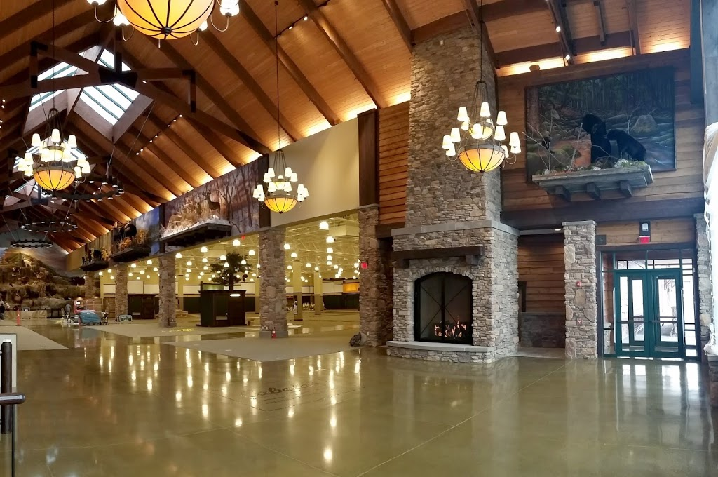 Cabela's Commercial Custom Gas Fireplace – Designed by Acucraft Fireplaces