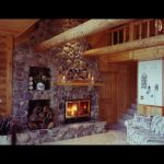 single sided efficient high tech wood fireplace