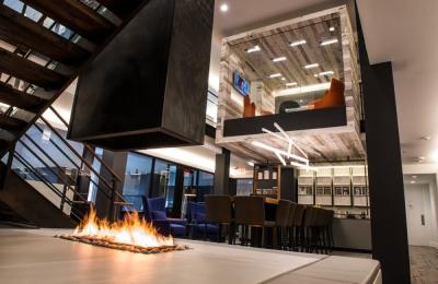 custom indoor fire pit