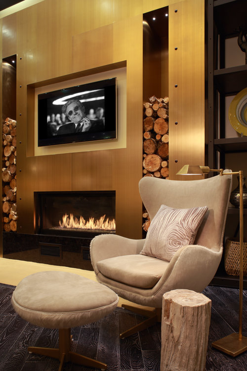 Acucraft Signature 4' Single Sided Linear Gas Fireplace with Starfire Glass Media