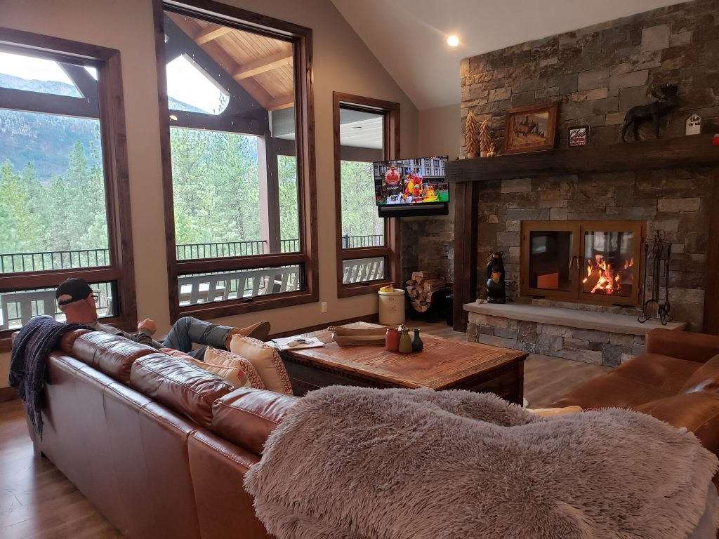 wood fireplace accessories and options