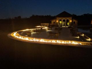 103 foot outdoor gas burner