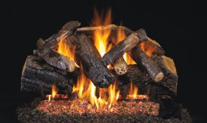charred gas logs majestic oak