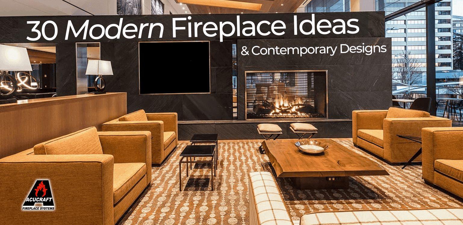 modern fireplace ideas cover