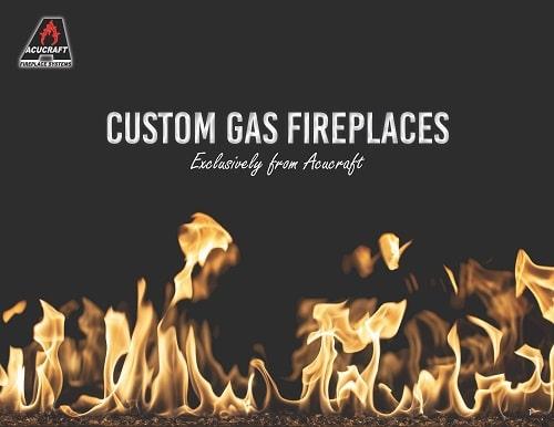 acucraft custom gas fireplace brochure