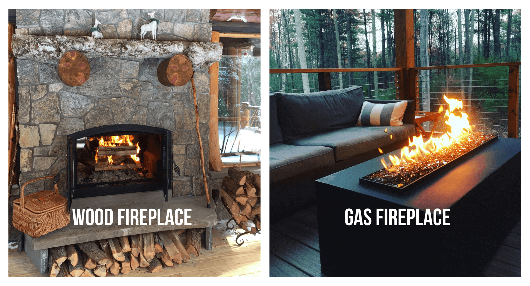 FAQ Outdoor Fireplace Gas or Wood