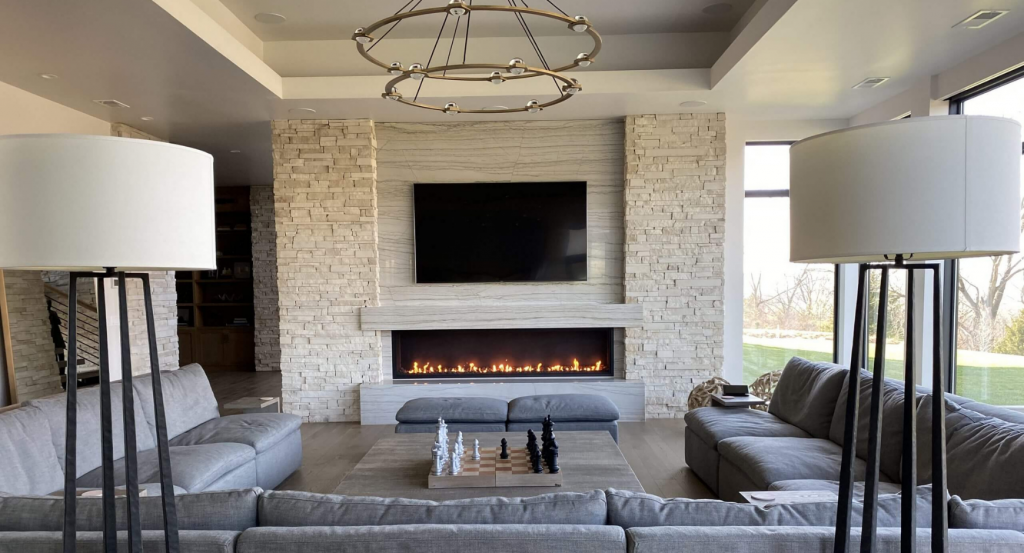 Signature Series Linear Open Gas Fireplace