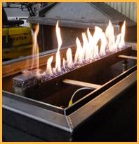 Gas Fireplace Test Burn
